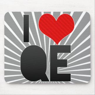 I Love QE Mouse Pad