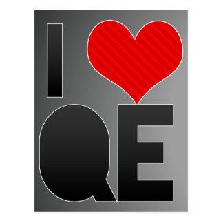 I Love QE Postcard