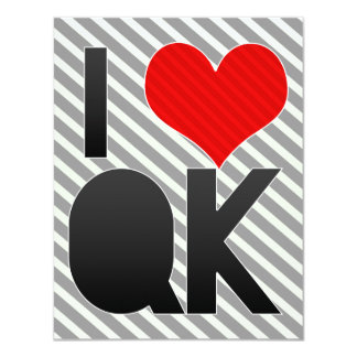 I Love QK Card