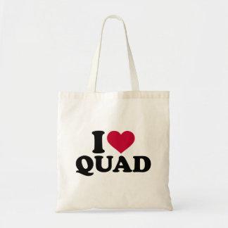 I love Quad Tote Bag