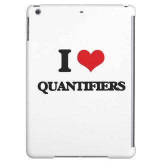 I Love Quantifiers iPad Air Covers