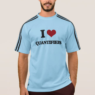 I Love Quantifiers Tees