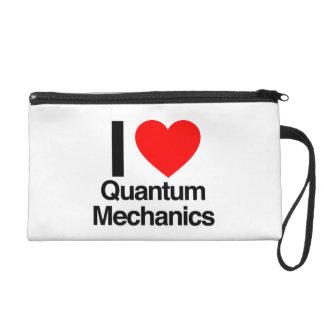 i love quantum mechanics wristlet
