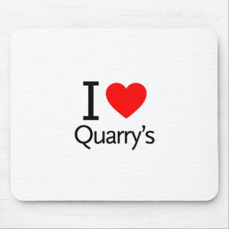 I Love Quarry s Mousepads