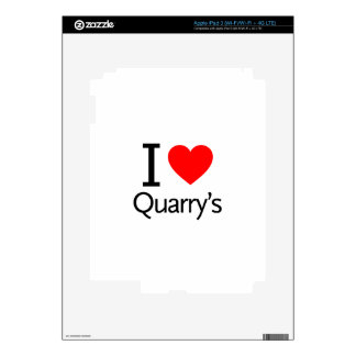 I Love Quarry's Skin For iPad 3