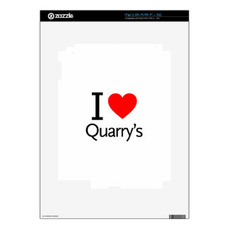 I Love Quarry's Skins For The iPad 2