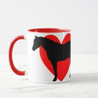I Love Quarter Horses Mug
