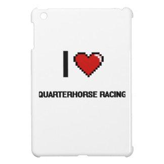 I Love Quarterhorse Racing Digital Retro Design Cover For The iPad Mini