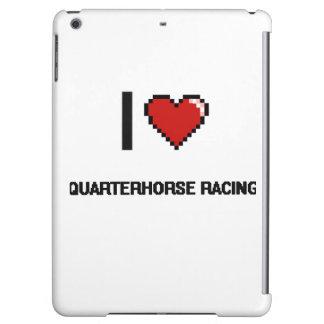 I Love Quarterhorse Racing Digital Retro Design Case For iPad Air