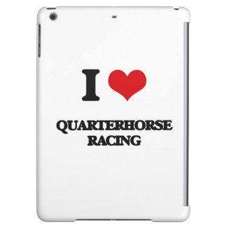 I Love Quarterhorse Racing Cover For iPad Air