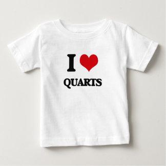 I Love Quarts Tee Shirt
