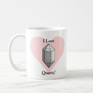 I Love Quartz! Coffee Mug