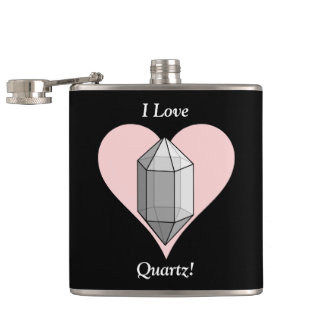I Love Quartz! Flask