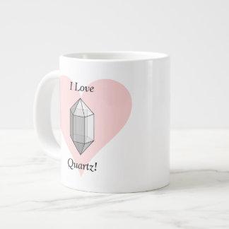 I Love Quartz! Giant Coffee Mug