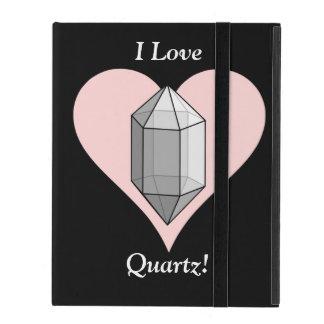 I Love Quartz! iPad Folio Cases