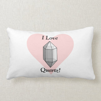 I Love Quartz! Lumbar Pillow