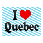 I Love Quebec, Canada Postcards