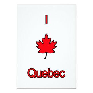 I Love Quebec Card