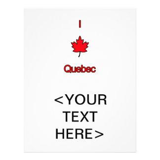 I Love Quebec Flyer