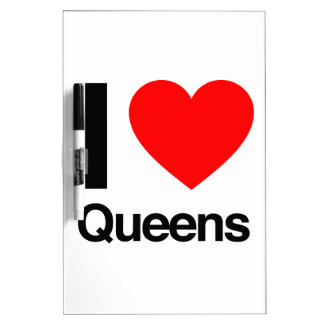 i love queens dry erase whiteboards