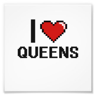 I love Queens Photo Print