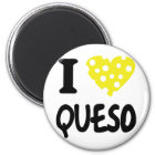 I love queso icon magnet