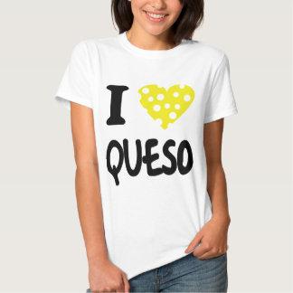 I love queso icon shirt