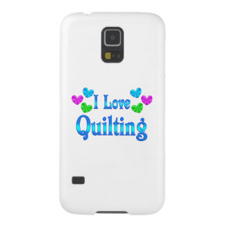 I Love Quilting Case For Galaxy S5