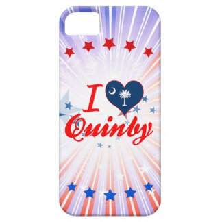 I Love Quinby, South Carolina iPhone 5 Cover