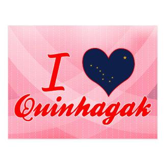 I Love Quinhagak, Alaska Post Cards