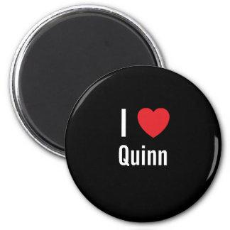 I love Quinn 2 Inch Round Magnet