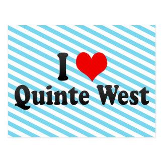 I Love Quinte West, Canada Postcard