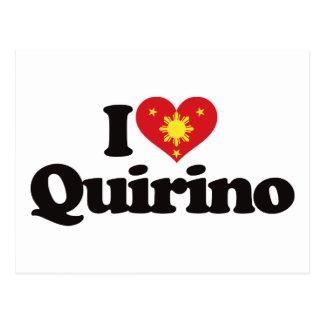 I Love Quirino Post Cards