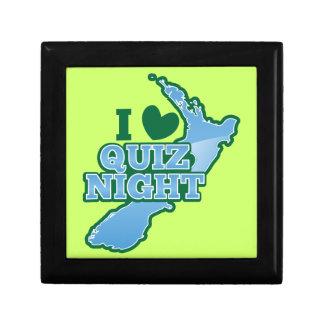 I love Quiz night! New Zealand map Gift Box