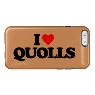 I LOVE QUOLLS INCIPIO FEATHER SHINE iPhone 6 CASE
