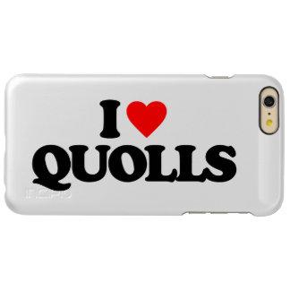 I LOVE QUOLLS INCIPIO FEATHER SHINE iPhone 6 PLUS CASE