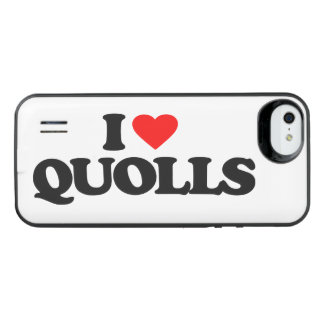 I LOVE QUOLLS iPhone SE/5/5s BATTERY CASE