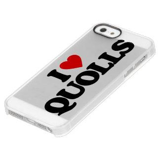 I LOVE QUOLLS PERMAFROST iPhone SE/5/5s CASE