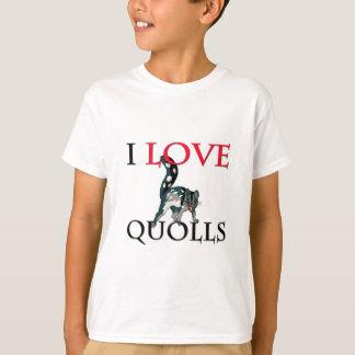 I Love Quolls T-Shirt