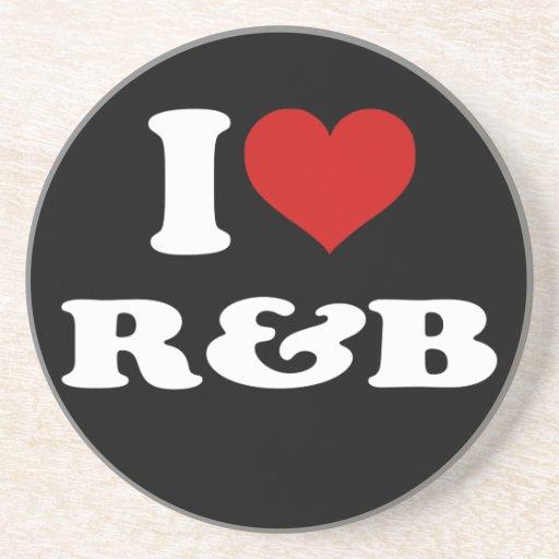 I Love R&B Coasters