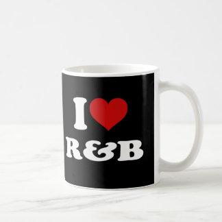 I Love R&B Classic White Coffee Mug