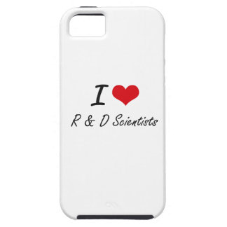 I love R & D Scientists iPhone 5 Cover