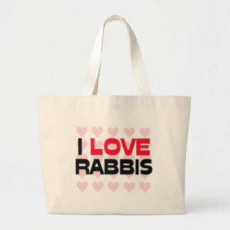 I LOVE RABBIS BAG