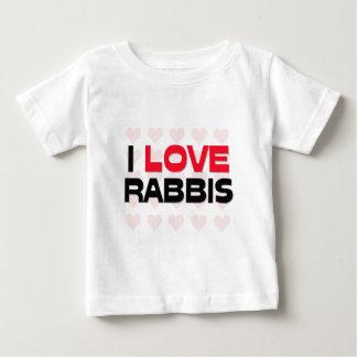 I LOVE RABBIS T SHIRT