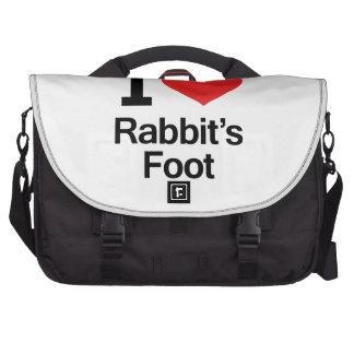 I Love Rabbit s Foot Commuter Bags