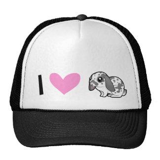 I Love Rabbits (floppy ear smooth hair) Trucker Hat