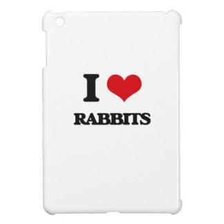 I Love Rabbits Cover For The iPad Mini