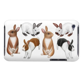I Love Rabbits iPod Touch Barely There Case