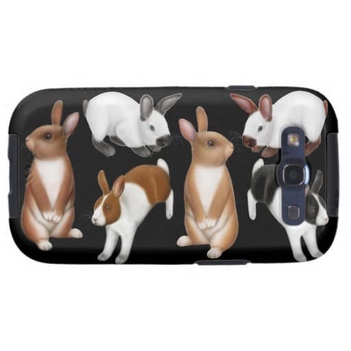 I Love Rabbits Samsung Galaxy S  Case Galaxy SIII Covers
