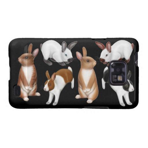 I Love Rabbits Samsung Galaxy S  Case Galaxy SII Cases